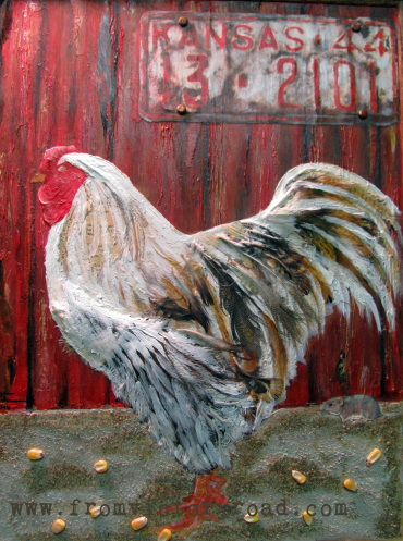 """SOLD """"Down on the Farm"""""""