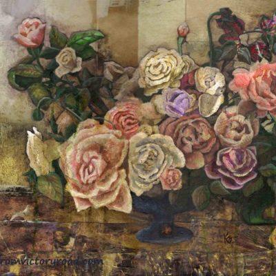 """SOLD """"Roses de Reverie"""""""