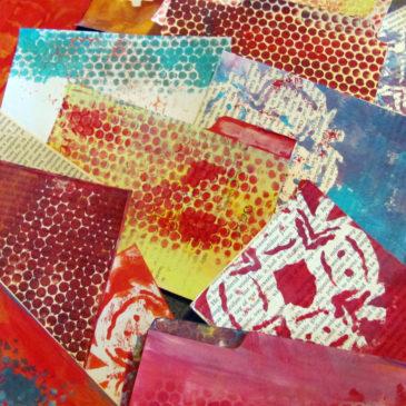 File Box Art Journal
