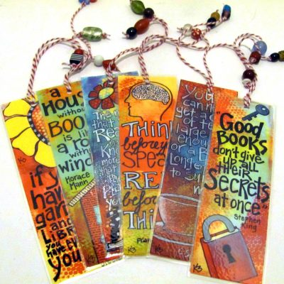 Bookmarks from artwork