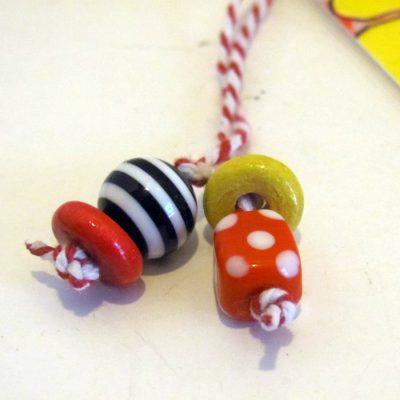 Bookmark beads