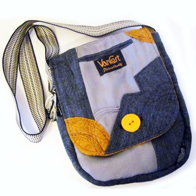 Half size messenger bag