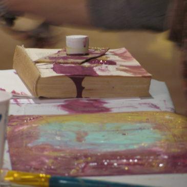 Introductory Art Journaling Class –