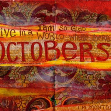 October – in my Art Journal