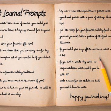 Art Journal Prompts