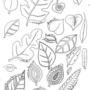 Leaves in the Sketchbook
