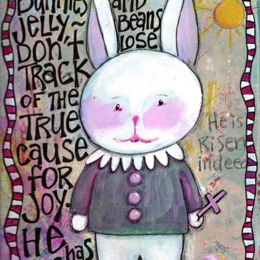 Journal Prompt – Put a Bunny on it!