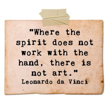 Leonardo da Vinci on art