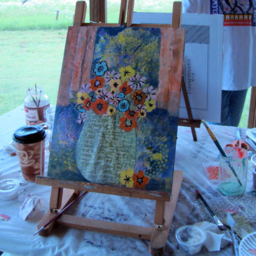 Musical Easels Mixed Media