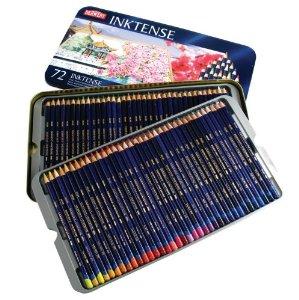 Using Derwent Inktense pencils