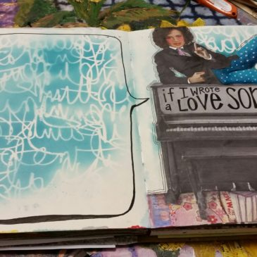 Write a Love Song – Art Journal Prompt
