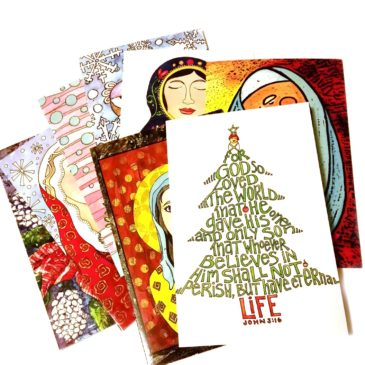 Christmas Cards plus FREE coloring page