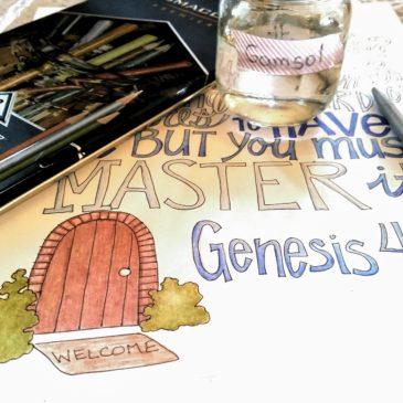 Genesis 4:7 Sunday Doodle