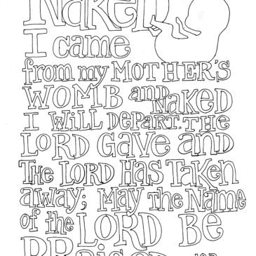 Scripture Doodle – Job 1:21