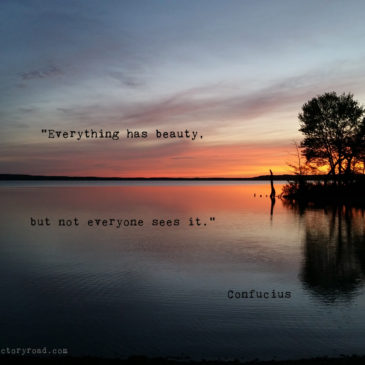 Confucius on Beauty