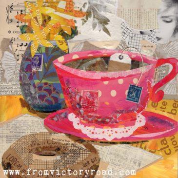 Coffee Break Collage Series