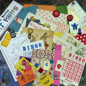 Fun and Games September Art Parts Pack