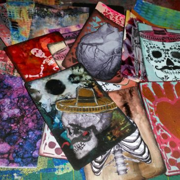 Day of the Dead ATC Card Workshop