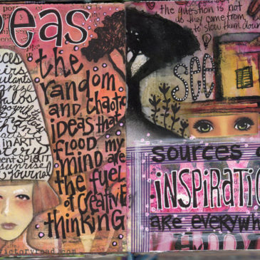Junk Journal spread 22
