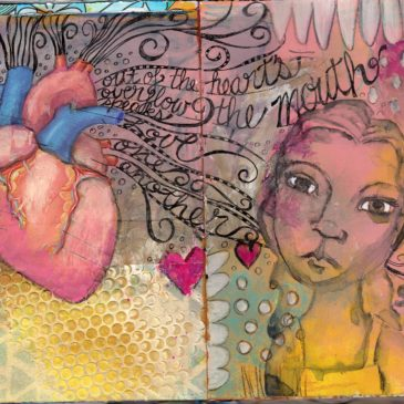 Art Journal Flip
