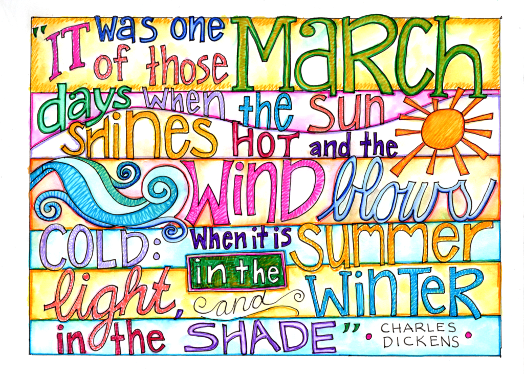 March by Dickens