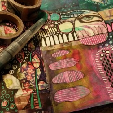 Using Your Junk Journal at Tessera Gallery
