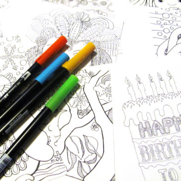 All Things New Coloring Page