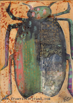 Encaustic Beetles Workshop Coming to Hutchinson!