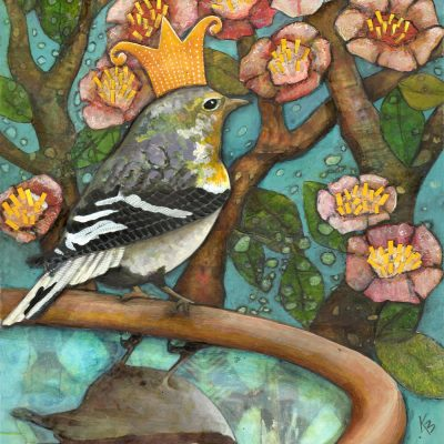 "SOLD ""Prince Goldfinch"""