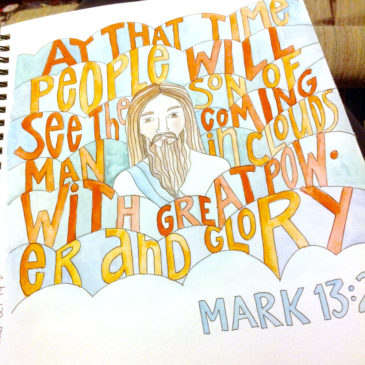 Power and Glory Sunday Doodle