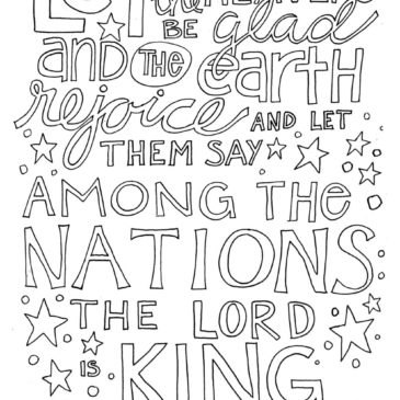 Let the Heavens be Glad…