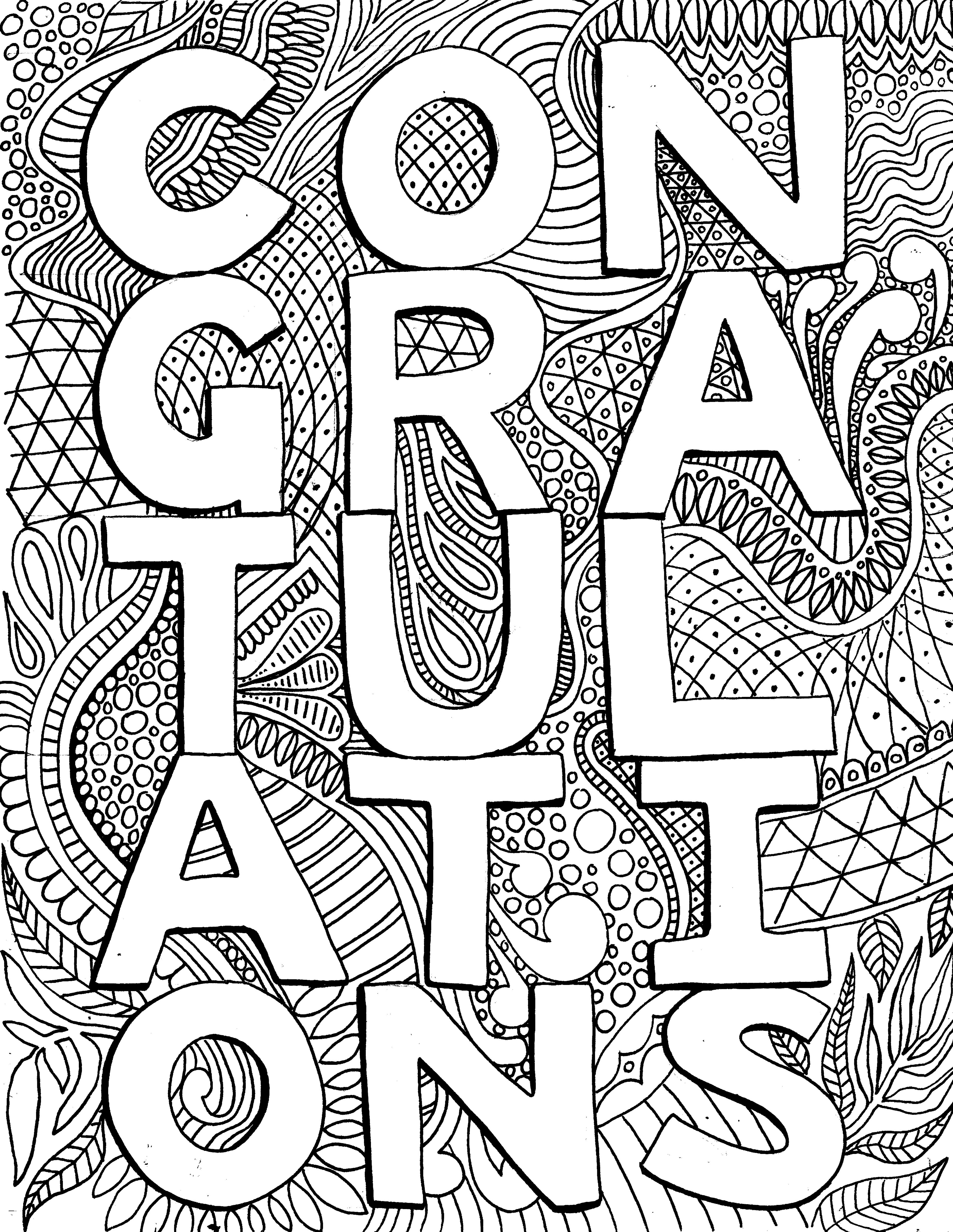 Congratulations! Free Printable - From Victory Road