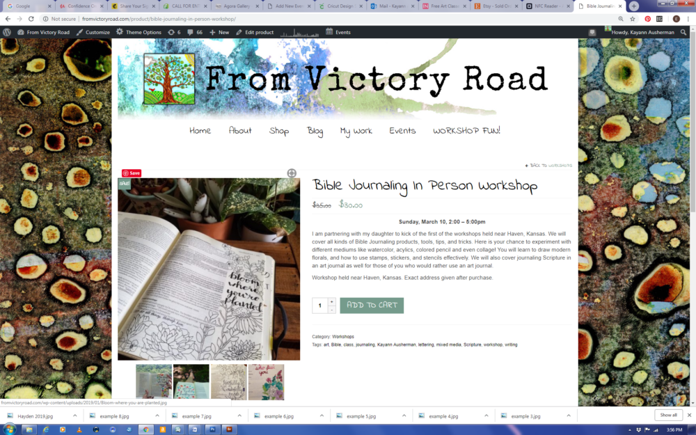 Free Coloring Page and Workshop News! – From Victory Road
